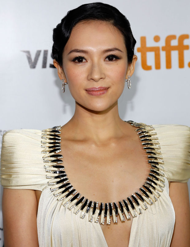 Zhang Ziyi in Marc Bouwer