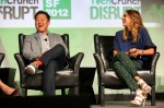 Jessica Alba In Preen - TechCrunch Disrupt SF 2012