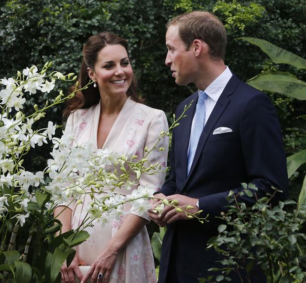 Catherine, Duchess of Cambridge in Jenny Packham
