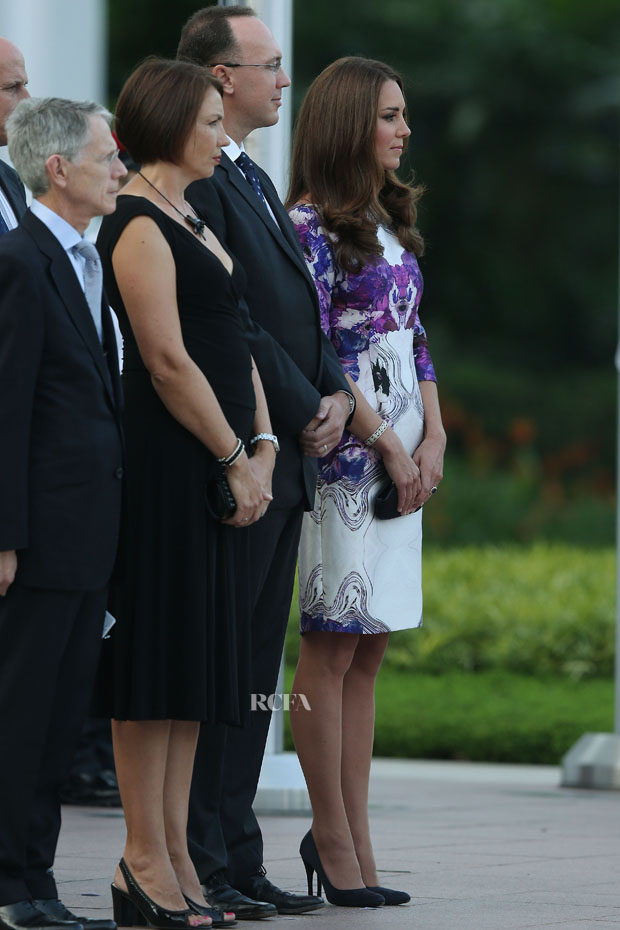 Catherine, Duchess of Cambridge in Prabal Gurung