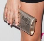 Christa B. Allen's YSL clutch