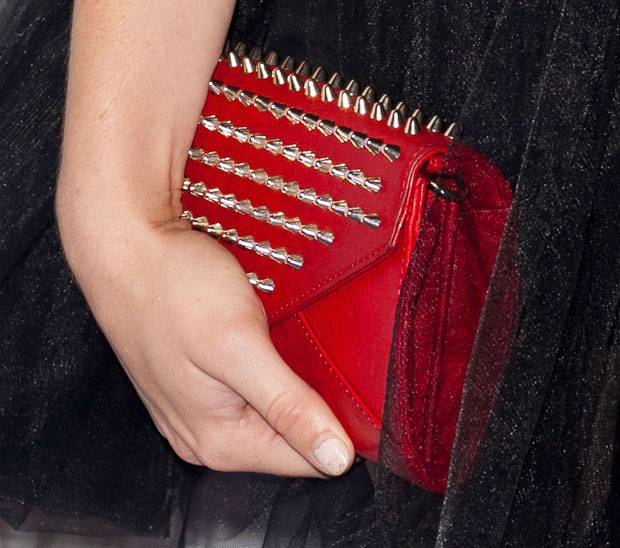 Holland Roden's clutch