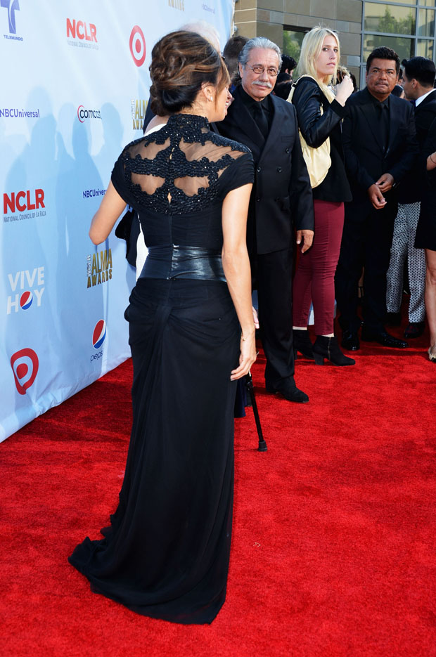 Eva Longoria in Monique Lhuillier