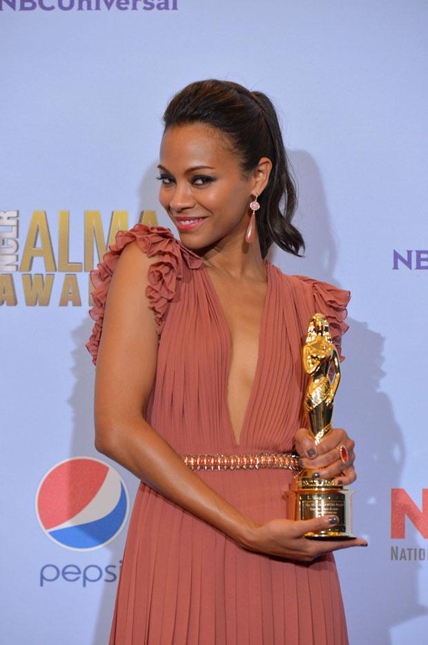 Zoe Saldana awards