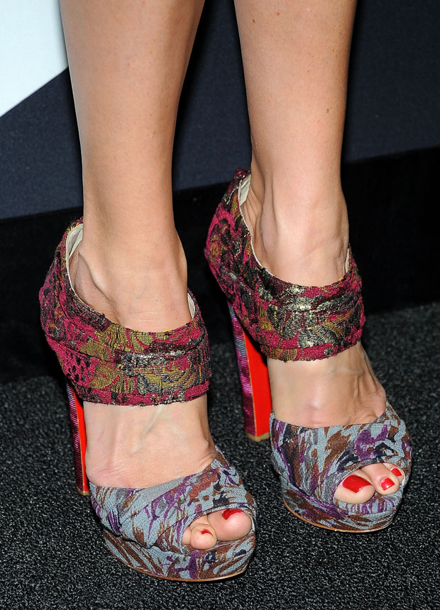 Cat Deeley's Christian Louboutin sandals