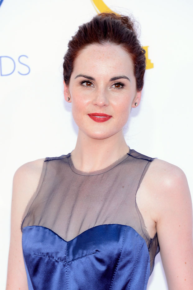 Michelle Dockery in Louis Vuitton