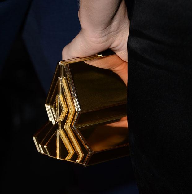 Elizabeth Banks' Rauwolf clutch