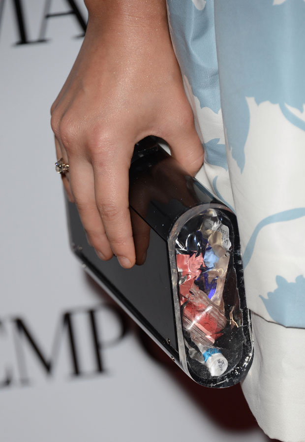 Lucy Hale's Edie Parker clutch