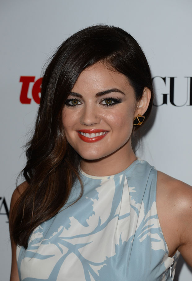 Lucy Hale in Dior