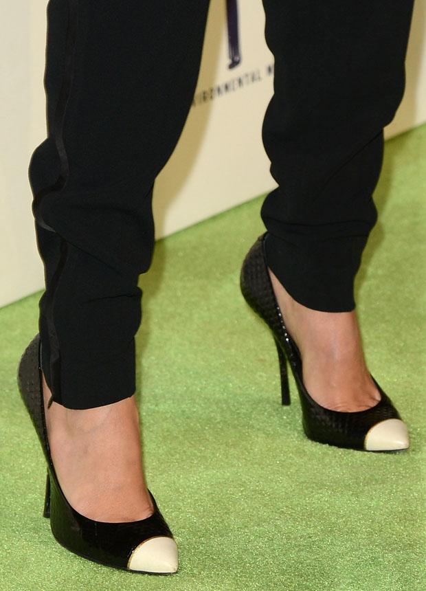 Jessica Alba's Giuseppe Zanotti shoes