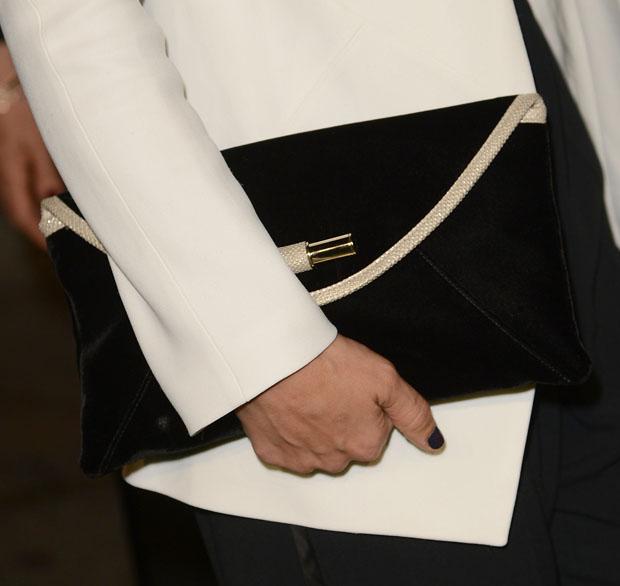 Jessica Alba's Jimmy Choo clutch