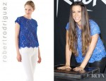 Alanis Morissette's Robert Rodriguez Must Have Lace Top