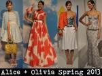 Alice + Olivia Spring 2013