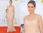 Amanda Peet In Calvin Klein - 2012 Emmy Awards