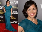 America Ferrera In Rachel Roy - 'End of Watch' LA Premiere