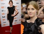 Amy Adams In Marchesa - 'The Master' Toronto Film Festival Premiere