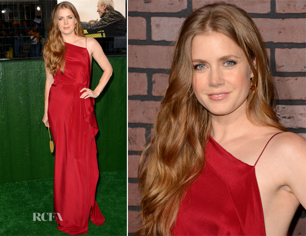 Amy Adams In Roksanda Ilincic - 'Trouble With The Curve' LA Premiere