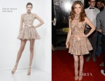 Anna Kendrick In Zuhair Murad - 'Pitch Perfect' LA Premiere