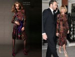Anna Wintour In Tom Ford - Obama Victory Fund 2012 Event