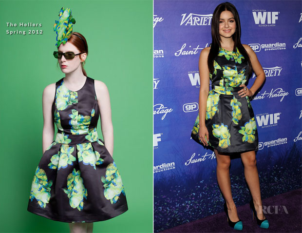 Ariel Winter In The Hellers - 2012 Variety and Women in Film Pre-Emmy Party