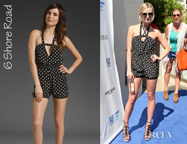 Ashlee Simpson's 6 Shore Road Beachcomber Romper