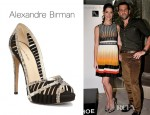 Ashley Greene's Alexandre Birman Betty Platform Sandals