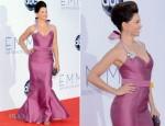 Ashley Judd In Carolina Herrera - 2012 Emmy Awards