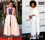 Best Dressed Of The Week - Emilia Clarke In Chanel & Solange Knowles In Rubin Singer