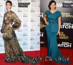 Best Dressed Of The Week - Anne Hathaway In Valentino Couture & America Ferrera In Rachel Roy