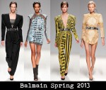 Balmain Spring 2013
