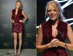Blake Lively In Gucci - Gucci Premiere Fragrance Launch