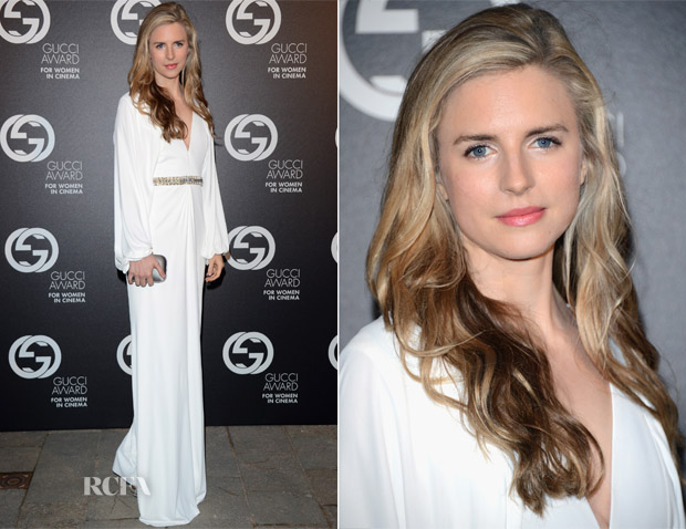Brit Marling In Gucci - 2nd Annual Gucci Award For Women In Cinema