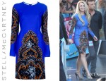 Britney Spears' Stella McCartney Floral Print Dress