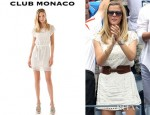 Brooklyn Decker's Club Monaco Lucie Dress