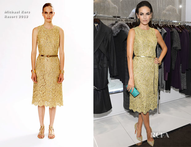 Camilla Belle In Michael Kors - Kors Collaborations Launch Party