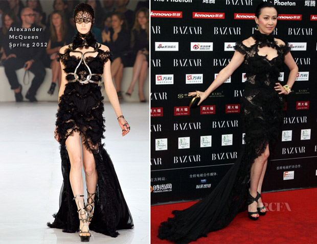 Carina Lau In Alexander McQueen - 2012 Bazaar Charity Night2