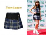 Carly Rae Jepsen's Juicy Couture Plaid Eton Skirt