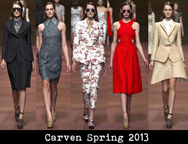 Carven Spring 2013