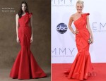 Cat Deeley In Andrew Gn - 2012 Emmy Awards