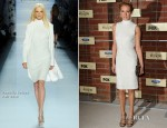 Cat Deeley In Pamella Roland - FOX's Fall Eco-Casino Party