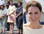 Catherine, Duchess of Cambridge - Honiara Airport