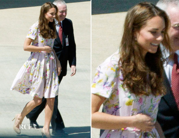 Catherine, Duchess of Cambridge In Project D - Brisbane Airport