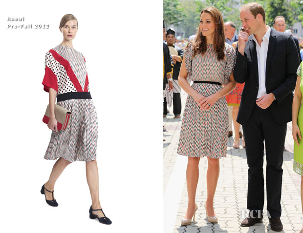 Catherine, Duchess of Cambridge In Raoul - Queenstown Visit