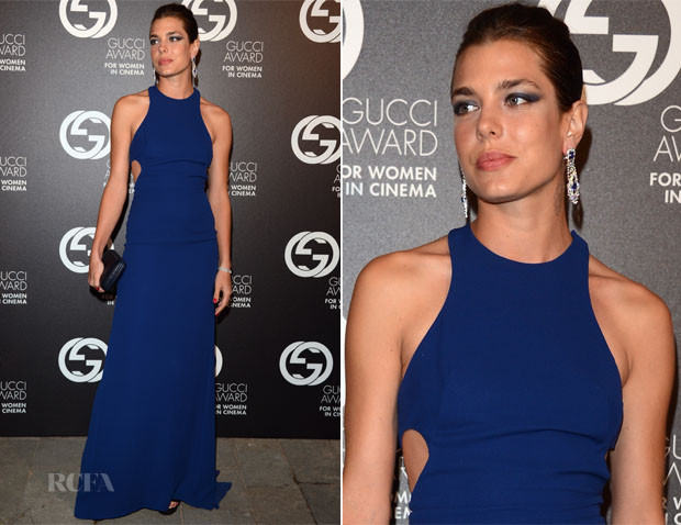 Charlotte Casiraghi In Gucci - 2nd Annual Gucci Award for Women in Cinema