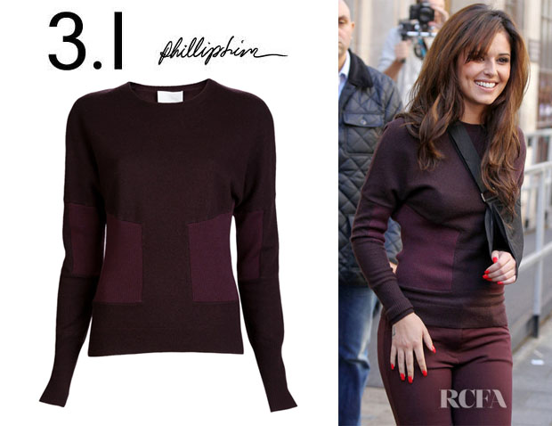 Cheryl Cole's 3.1 Phillip Lim Wool Sweater