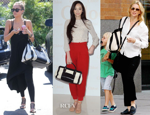 celebs and their love for chloe handbags
