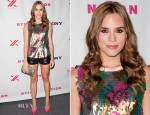 Christa B. Allen In MaxMara & Rebecca Minkoff - NYLON September TV Issue Party