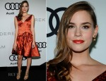 Christa B. Allen In Vintage Irene Galitzine - Audi Kick Off Emmy Week 2012 Party