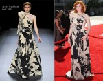 Christina Hendricks In Jenny Packham - 2012 Creative Arts Emmy Awards