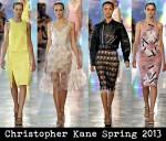 Christopher Kane Spring 2013